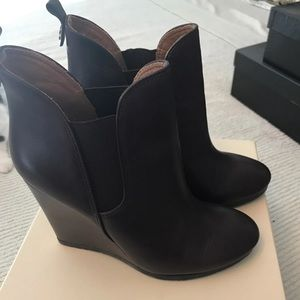Coach wedge ankle boots